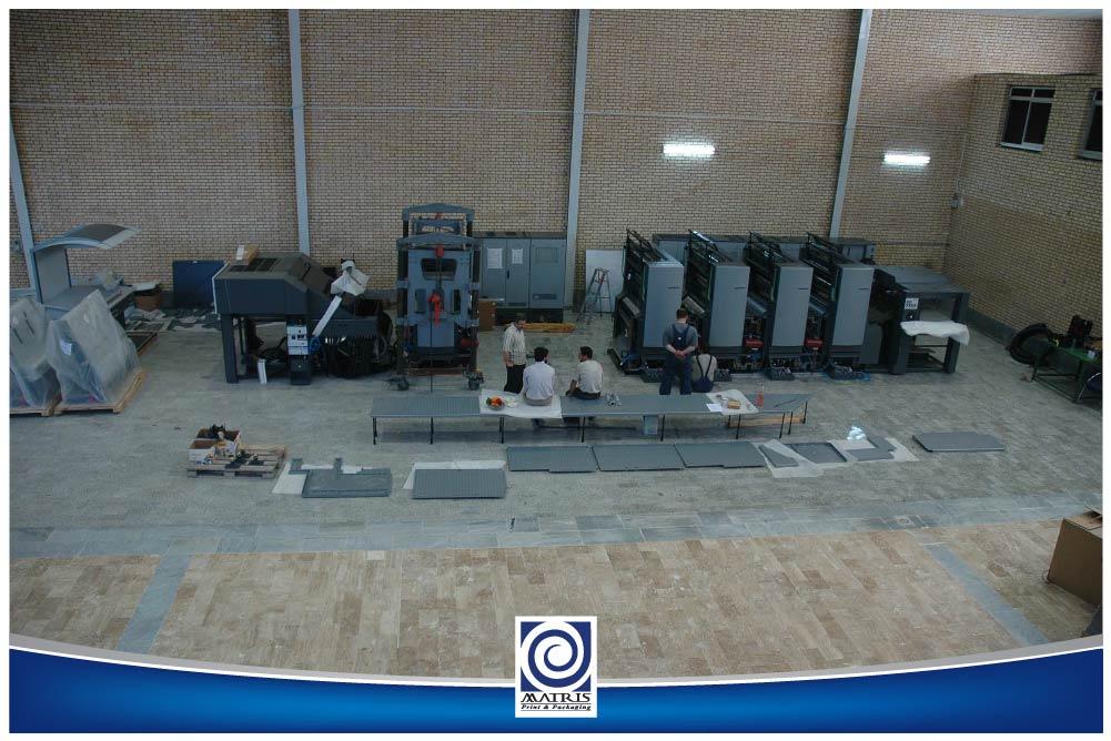 ورود و نصب دستگاه چاپ CD-بهار 1385