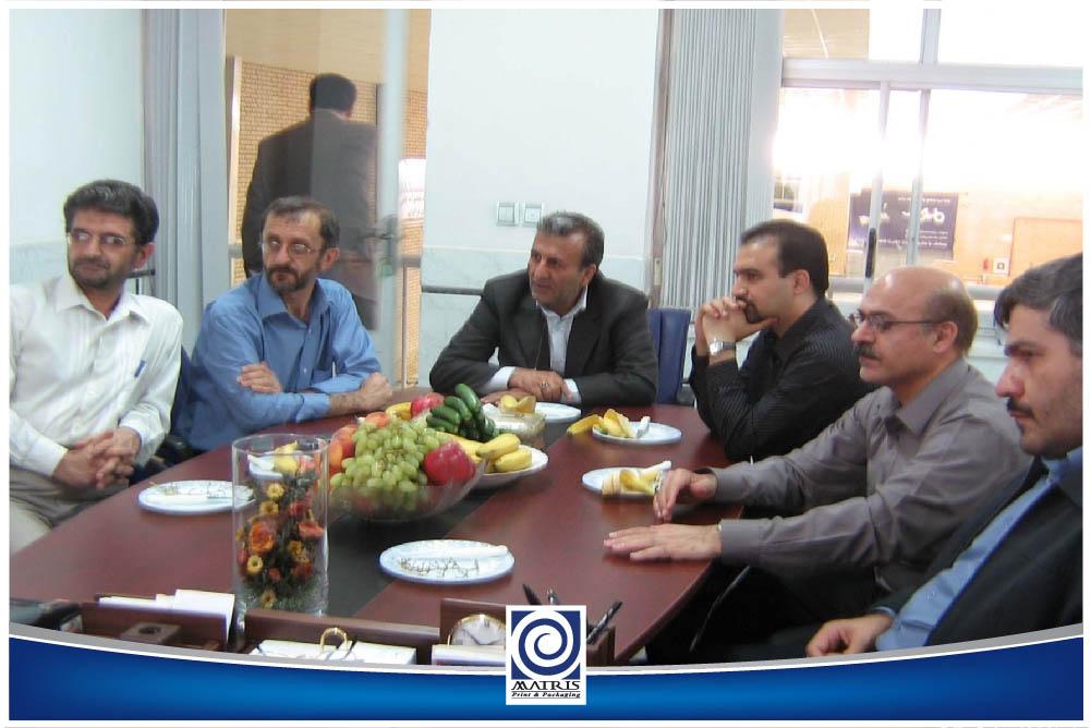 معاون حوزه چاپ وزارت فرهنگ و همراهان - پائیز86